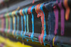 Running Colors (RaulCano82) Tags: paint running drip dripping color colorful mix mixture art artsy wall overheaddoor city houston htx htown raulcano canon canon70d 70d dslr depthoffield dof bokeh