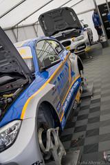 BTCC Knockhill 2016 - West Surrey Racing (Sacha Alleyne) Tags: britishtouringcarchampionship tintops toca barc dunlop motorsport racing 2016 race car bmw 125i msport paddock