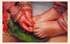 Nepali wedding rituals  #wedding #Nepali culture #wedding time #bride #nepal #nepalibride #nepaliwedding #red #jivanchitra #reddress #weddingshoot #weddingbells #bridalshoot #canon #canon7dmarkii #bokhe #hands #flowers #jewelry #foot #thumb #bangles (jivan_jov) Tags: wedding nepali cultur tim bride nepal nepalibride nepaliwedding red jivanchitra reddress weddingshoot weddingbells bridalshoot canon canon7dmarkii bokhe hands flowers jewelry foot thumb bangles