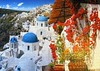 Santorini (pefkosmad) Tags: jigsaw puzzle hobby leisure pastime santorini greece photograph photo village blue white island 1000pieces complete used