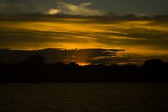 Round Lake Sunset (FotodioxPro) Tags: roundlake sonya7rii tmountlens retrolens 135mm fullframe lake sunset dusk moody dramatic ndthrottle fotodiox f28 waves water treeline horizon landscape cloud serene tmountadapter tmounttoeosadapter eostosonyemountadapter doublestackedadapters