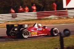 René Arnoux - Ferrari 126C4 (Noodles Photo) Tags: xliigroteprijsvanbelgie renéarnoux scuderiaferrarispasefac scuderiaferrari ferrari formel1 formulaone circuitzolder zolderterlaemen zolder turbo gpbelgien analogpicture rennwagen autorennen rundstrecke ferrariformulaone motorsport