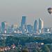 Hot Air Balloon over London