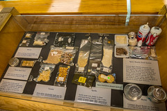 Astronaut's Space Food Display (Serendigity) Tags: spaceflight usa food museum spacehistory unitedstates alamogordo newmexico astronaut