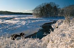 scarborough marsh, maine (jtr27) Tags: dsc03480fr1e jtr27 sony alpha nex6 nex emount mirrorless sigma 1770mm f2845 dcmacro scarborough marsh maine landscape newengland fresh snow winter