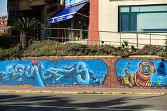 Wall art and murals Aguilas in Murcia region, Spain (RagbagPhotography) Tags: spain aguilas murcia mar menor wall art seaside beach