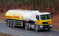 MAN - Suckling Transport/SHELL (scotrailm 63A) Tags: lorries trucks tankers
