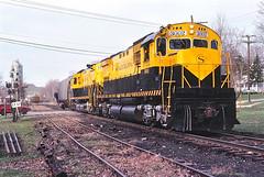 NYS&W 3002                10-85 (C E Turley) Tags: railway nysw c430 alco