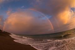 (AgustínCarrillo) Tags: rainbow arcoiris sunset ocean orange atardecer oceano atlantico beaut beauty argentina trelew chubut playa union patagonia south america