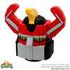 "Mighty Morphin Power Rangers Megazord Head (part of the LEGO Ideas Project) • <a style=""font-size:0.8em;"" href=""http://www.flickr.com/photos/44124306864@N01/32038307730/"" target=""_blank"">View on Flickr</a>"