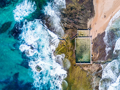 Wave Pool (scotty-70) Tags: dji mavic pool tidal narrabeen drone aerial water ocean swim sea shore nsw
