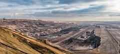 Germany - Brown coal mining (Henk Verheyen) Tags: bruinkoolwinning d duitsland zon bruinkool buiten outdoor winning winter jüchen nordrheinwestfalen de germany brown coal mining mine dagbouw landschap landscape