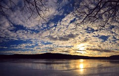 2017_0114Sunny-But-Cold-Pano0003 (maineman152 (Lou)) Tags: panorama west pond westpond lake frozen frozenover frozenlake ice icecovered icedoverpond icedover winter winterweather coldweather coldwinterweather cloudysky mackerelsky clouds sky wintersky nature naturephoto naturephotography landscape landscapephoto landscapephotography january maine