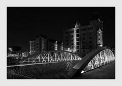 Speicherstadt by Night (PhotoChampions) Tags: speicherstadt pickhuben hamburg unesco unescoweltkulturerbe weltkulturerbe hafen nightshot urban nocturnal blackwhite