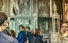 visitors (albyn.davis) Tags: people manipulation museum vuitton paris france mural layered doubleexposure