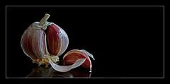 Garlic Still Life (andycurrey2) Tags: macromondays itsapeelingtome garlic stilllife food macrodreams