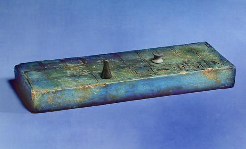 "Senet - Lujoso sistema de objetos lúdicos obsequio del dios Toht a la faraona Nefertari • <a style=""font-size:0.8em;"" href=""http://www.flickr.com/photos/30735181@N00/32369502582/"" target=""_blank"">View on Flickr</a>"