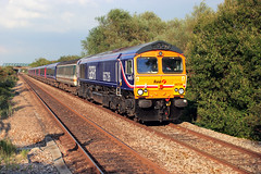 66726, 5Z91 Worle Parkway. (Chris G Perkins) Tags: 66726 gbrf worle 20d