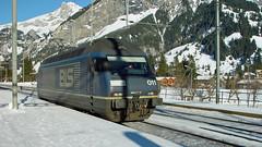 Re 465 011 (BLS + Basel) Tags: bls re465 kandersteg lötschberg nordrampe eisenbahn fahrzeug lokomotive