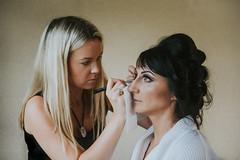 www.LincolnshireWeddingDuo.co.uk (KMGS Photography) Tags: bride makeup wedding preparations nikon d800 beautiful beauty lincolnshire grantham
