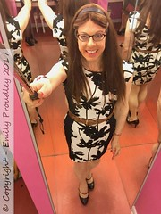 February 2017 - my first visit to Pink Punters (Girly Emily) Tags: crossdresser cd tv boytogirl mtf maletofemale tvchix tranny trans transvestite transsexual tgirl convincing dress feminine girly cute pretty sexy transgender xdresser highheels gurl hosiery tights glasses stilettos bodycon pinkpunters bno