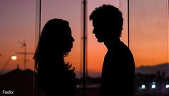 12 de Junho (Pedro Feelix) Tags: sunset pordosol love couple amor namorados namoro silhueta diadosnamorados relacionamento