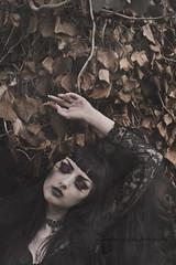 (martina.spoljaric1989) Tags: woman girl fashion dark hair darkness goth expressive vamp