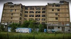 Abandoned in New Jersey (gravescout) Tags: abandoned geotagged graffiti newjersey jerseycity decay hoboken brokenwindows hudsoncounty 2015 libertytour