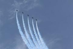Blue Angels (lolowar) Tags: show blue museum us unitedstates florida aviation air jets airshow angels planes naval blueangels pensacola navalaviationmuseum