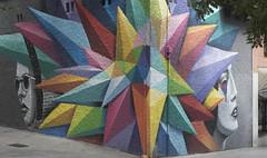 Spiky corner (infinitum Photography & Video Production) Tags: madrid street art colors corner 50mm calle coin nikon mural colours arte geometry couleurs colores via d750 rue colori lavapies rincn infinitum geometra gometrie infinitumstudio