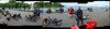 Promenadorama (beqi) Tags: panorama bike bicycle edinburgh recumbent photoshoppery cramond 2015 edinburghfestivalofcycling