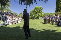 Graduation Day (LifeLover4) Tags: outdoors parents photo spokane lawn graduation teens photographers cameras bleachers