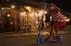 Night Rider (Coquine!) Tags: thailand kid asia market bangkok scooter markt christianleyk rotfei