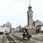High Street, Epsom, Surrey, England - very early 1900s thumbnail