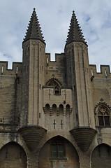 0283 - Europatour 2014 - Frankreich - Avignon - Pabstpalast (uwebrodrecht) Tags: france castle frankreich europa schloss avignon palast uwe papst brrodrecht