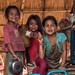Enfants Akha. Oudomxay. Laos