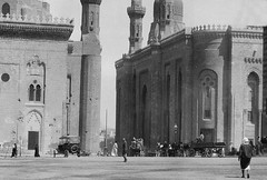 02_Cairo - Sultan Hassan Mosque and El Rifai Mosque (left to right) (usbpanasonic) Tags: northafrica muslim islam egypt culture nile cairo nil egypte islamic مصر caire moslem egyptians sultanhassanmosque misr qahera masr elrifaimosque egyptiens kahera