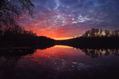 Burning sky | Explored on 07.23.15 | Thank you all! (Pásztor András) Tags: trees sunset lake reflection nature water clouds forest landscape photography mirror boat spring nikon colorful hungary andrás pásztor d5100