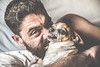 ¿Quien nos despertó de la siesta? (Charo Ortega) Tags: perro siesta mascota hombre fiel enfado rabia masculino