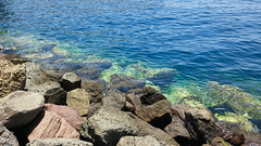 (Mateusz Mathi) Tags: blue summer water rock de puerto spain mini lg gran g2 canaria mogan woda mateusz 2015 mogn mathi hiszpania wyspy kanaryjskie