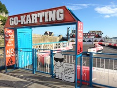 The Stig in error, Llandudno Pier