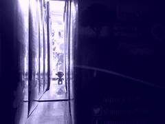 """""""Raphael"""" de entre los envases de leche. (Xic Eseyosoyese (Juan Antonio)) Tags: de entre los envases leche las tortugas ninja miniatura del huevo kinder sorpresa en una escena o suspenso filtro azul caja larga vida tetra pak ultrapasteurizada estante la tienda miscelánea méxico alpura y nutrileche clásica cartones milk rafael raphael raph melancólica"""
