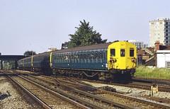 British Rail 2EPB EMU 5671 Norwood Junction