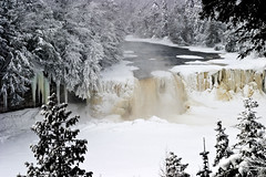 8 Gorgeous Frozen Waterfalls In Michigan That Must Be Seen To Be Believed (michiganapparelts) Tags: livnfreshcom 8 gorgeous frozen waterfalls in michigan that must be seen to believed outdoors upper peninsula paradise falls luce county tahquamenon lower newberry photography prints digital products wallpaper screensaver sale stock downloads high resolution landscape jmp mandj98 james marvin phelps