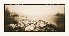 River Rhine (variation) (zonevde) Tags: zeroimage zeroimage612b 6x12 acros xtol lith digitallith pinhole fujineopanacros epson4990