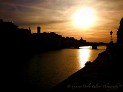"""Gold Sunset"" (giannipaoloziliani) Tags: sunset tramonto gold goldsunset cielo sky skyline evening color monocolor città city florence italia italy firenze fiume arno river dark darkness sun sunlight sole luce lights ombre shadows flickr scuro buio oscuro obscure hard strange nikon nikonphoto nikonphotography nikoncamera nikond3200 oro vista view panorama black landscape sera riflessi riflessisulfiume reflections riverreflections sagome shapes prospettica prospettiva perspective colore monocolore sunlights lucedelsole lucesolare architettura architecture citylive citynight giallo yellow dome lamps lampioni cupola toscana toscany extreme blackextreme"