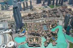 At The Top observation deck. (ImRonGee) Tags: dubai atthetop burjkhalifa view lake traveler travel traveling story dairy