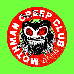 Mothman creep club https://society6.com/gimetzco/collection/fan-clubs (Gimetzco) Tags: mothman