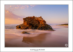 Australian Summer (John_Armytage) Tags: portmacquarie lighthousebeach beach sunrise johnarmytage sony sonyalpha sonya7r2 sony1635 australia nsw visitnsw