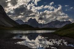 ...on Earth as it is in Heaven (Double Sky) (bandit4czm) Tags: memmingerhütte obereslechtal lechtaleralpen seewiese tirol ausserfern austria reflection clouds